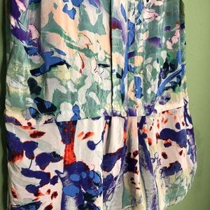 Anthropologie Tops - Moulinette Soeurs Stippled Canvas Silk Top